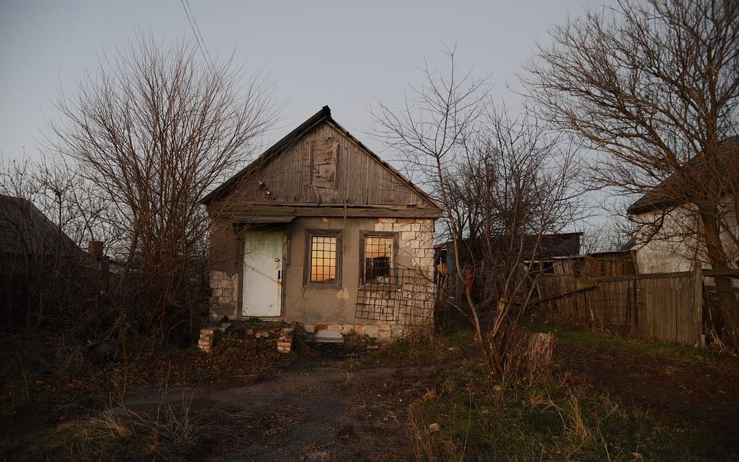 4 ans de guerre: famille dans le Donbass